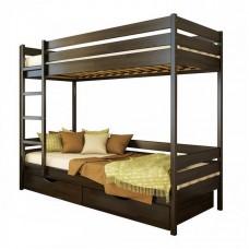 Кровать двухъярусная Дует 90х190, 106-венге Щит 2Л4