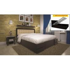Кровать ТИС КАРМЕН (ПМ) 160 200 сосна