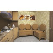 Кухонный уголок ТИС Монарх бук