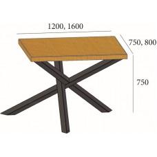 Стол обеденный Loft Айрон